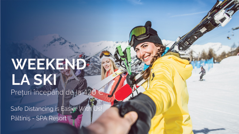 Weekend la ski